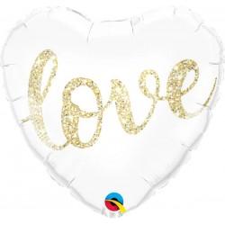 PALLONCINO CUORE LOVE