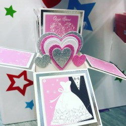 BIGLIETTO POP-UP MATRIMONIO
